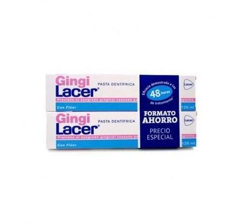 Lacer gingilacer pasta dental duplo 2x125ml