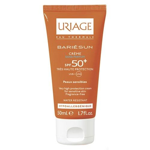 Bariesun spf 50+ crema extrema sin perfume (1 envase 50 ml)