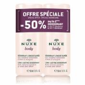 Nuxe body desodorante duplo -50 % 2ªunidad