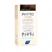 Phytocolor nf nº6.77 marron claro capuchino