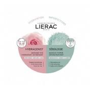 Lierac duo macarilla hydragenist&sebologie 2x6ml