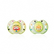 Tommee tippee chupete fun style 0-6 m 2 unidades