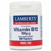 Lamberts vitamina b12 100mcg 100comp