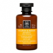 Apivita champu nutritivo reparador de oliva y miel 250ml.