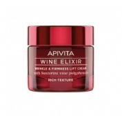 Apivita wine elixir crema textura rica 50 ml