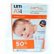 Leti at-4 crema facial duplo 2x50 ml (50%dto. 2ªu.)