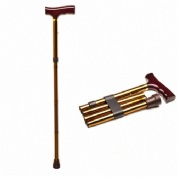 Prim muletilla plegable al bronce empuñadura marron
