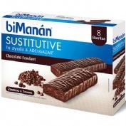 Bimanan beslim sustitutivo (10 barritas 31 g sabor chocolate fondant)