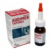 Audimer audiclean tapones solucion - limpieza oidos (1 envase 12 ml)
