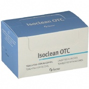 Isoclean otc toallitas - alcohol isopropilico al 70% (50 toallitas)