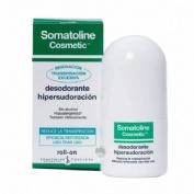 Somatoline cosmetic desodorante hipersudoracion (2 roll on 40 ml)