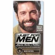 JUST FOR MEN BIGOTE Y BARBA - GEL COLORANTE (30 CC NEGRO)