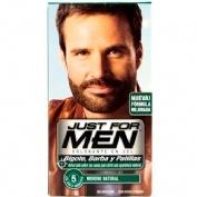 Just for men bigote y barba - gel colorante (1 envase 30 ml color moreno)
