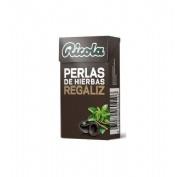 Ricola perlas sin azucar (1 envases 25 g sabor fresa)