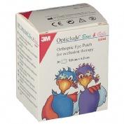 Opticlude - parches oculares (imp mini 6 cm x 5 cm 30 unidades)