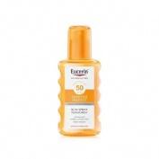 Eucerin sun protection 50 spray transparente - sensitive protect (1 envase 200 ml)