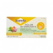 Juanola dolor de garganta propolis forte (sabor suave balsamico 20 comprimidos)