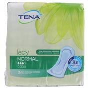 Absorbente incontinencia orina ligera - tena lady normal (24 unidades)