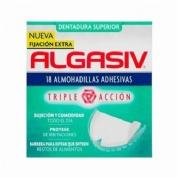 ALGASIV - ALMOHADILLAS ADHESIVAS PROTESIS (18 U SUPERIOR)