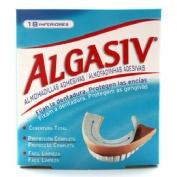 Algasiv - almohadillas adhesivas protesis (18 unidaes inferiores)