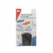 Tapones oidos silicona - 3m agua (2 unidades)
