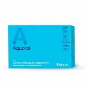 Aquoral - gotas oftalmicas lubricantes esteriles (20 monodosis 0,5 ml)