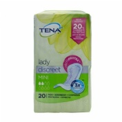 Absorbente incontinencia orina ligera - tena discreet mini (20 unidades)