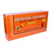Revital jalea real vitaminado amp bebibles (20 viales)