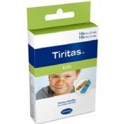 Tiritas kids - aposito adhesivo (20 unidades 2 tamaños)