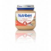 Nutriben pollo con verduras (1 potito inicio 130 g)