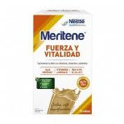 Meritene fuerza y vitalidad batido (15 sobres 30 g sabor cafe descafeinado)