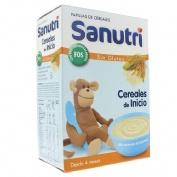 Sanutri papilla inicio cereales fos sin gluten (2 envases 300 g)