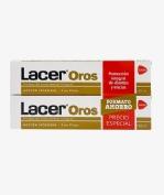 Lacer oros pasta duplo 2x125 ml