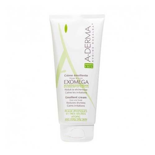 A-derma exomega control crema emoliente (1 envase 200 ml)