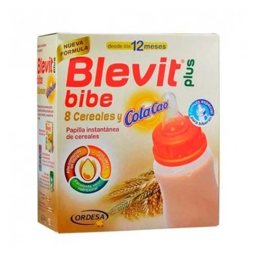 Blevit plus bibe 8 cereales y colacao (1 envase 600 g)