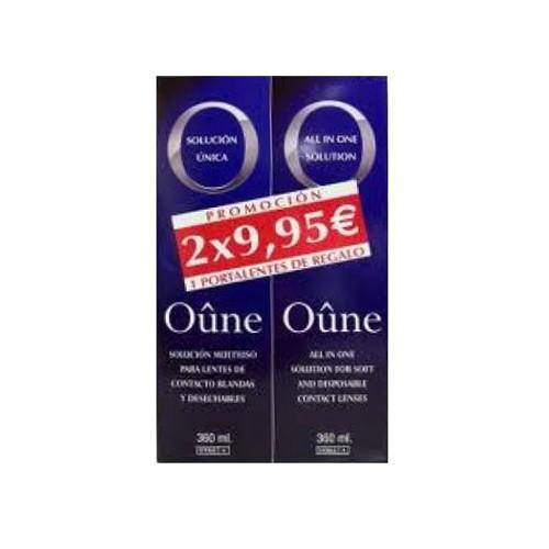 Oûne lentes de contacto blandas - solucion unica (2 envases 360 ml)