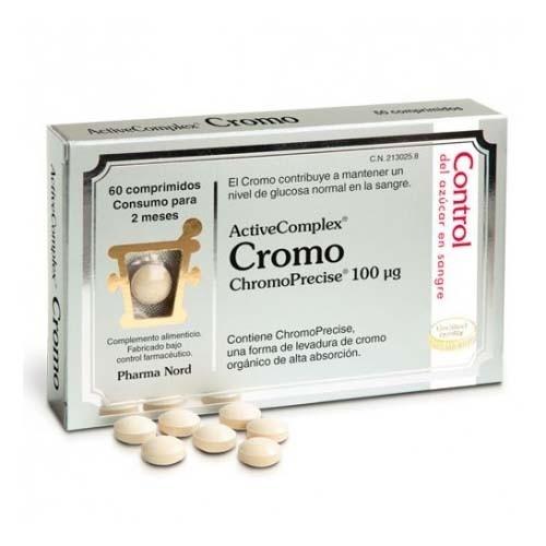 Activecomplex cromo 100 mcg (60 comprimidos)