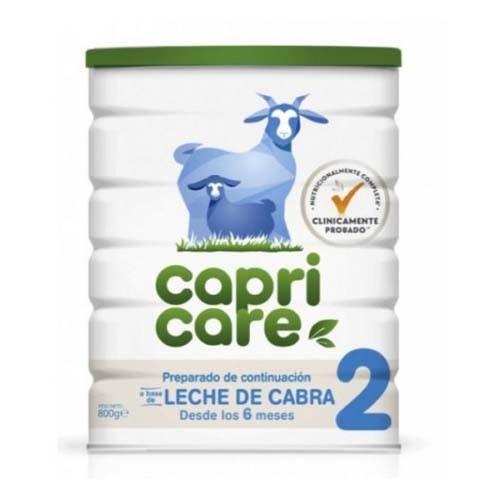 Capricare 2 preparado lactantes desde 6ºmes - leche de cabra (1 envase 800 g)