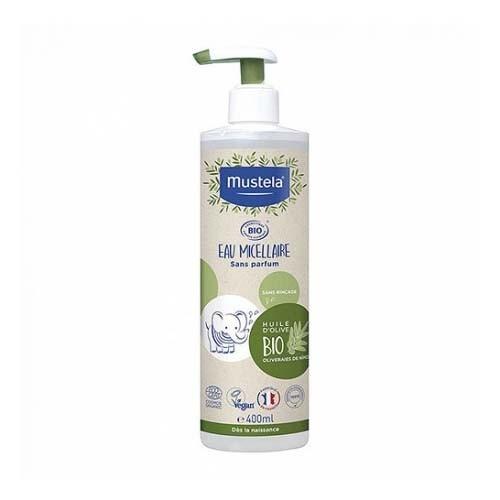 Mustela agua micelar bio (1 envase con dosificador 400 ml)