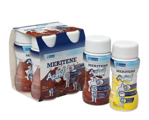 MERITENE DRINK (125 ML 4 BOTELLAS CHOCOLATE)