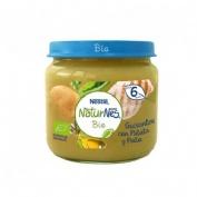 Naturnes bio guisantes con patata y pollo (1 envase 190 g)