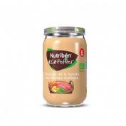 Nutriben ecopotitos verduras de la huerta - con ternera ecologica (1 envase 235 g)