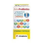 Arkobiotics vitaminas y defensas 4 fermentos lac - vitaminas 12 y 7 minerales (30 comp tricapa)