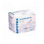 Apotex solucion esteril salina fisiologica (5 ml 30 monodosis)