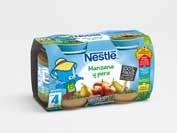 Nestle manzana y pera (2 envases 130 g)