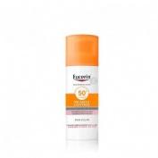 Eucerin sun protection 50+ fluid pigment control (1 envase 50 ml)