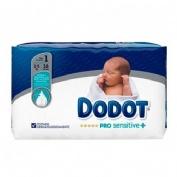Pañal infantil - dodot pro sensitive (t- 1 2-5 kg 38 u)
