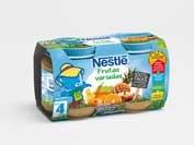 Nestle frutas variadas (2 envases 130 g)