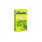 Ricola perlas sin azucar (1 envase 25 g sabor limon)
