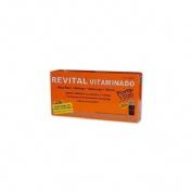 Revital vitaminado fte amp bebible (10 viales)